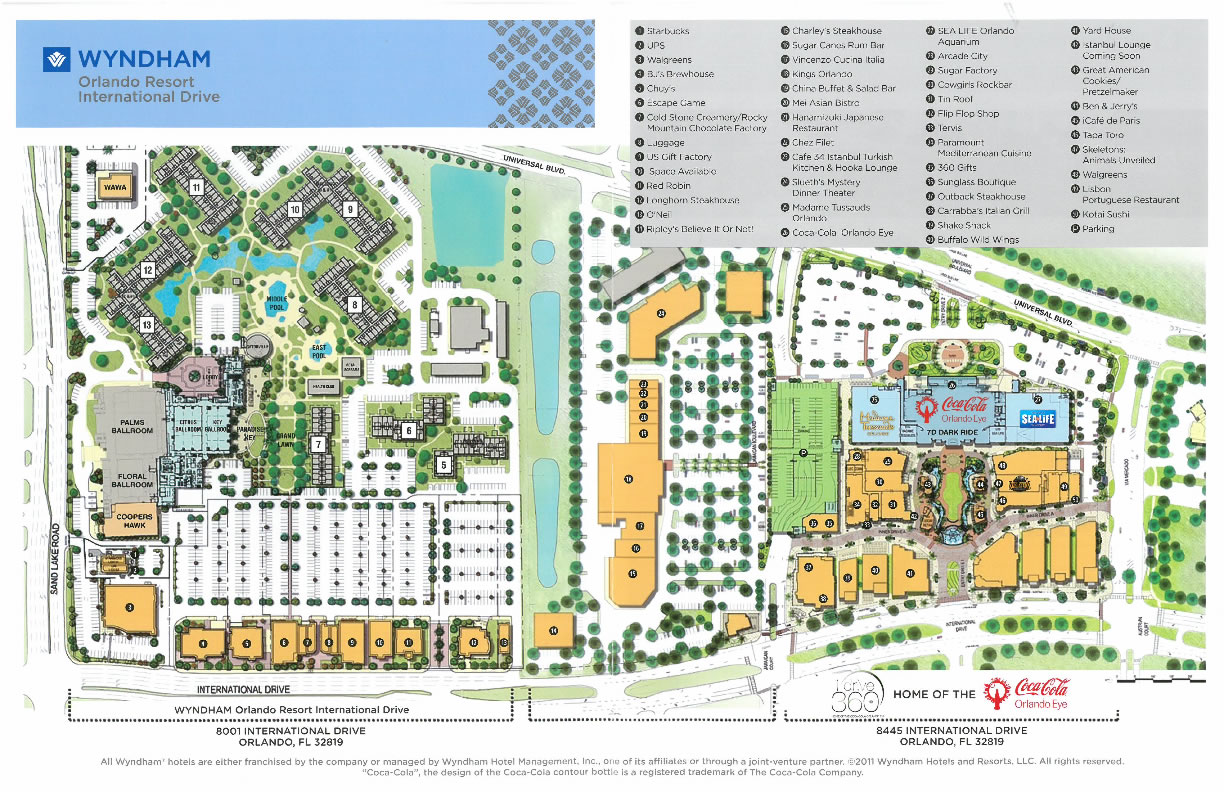 resort map wyndham idrive 360