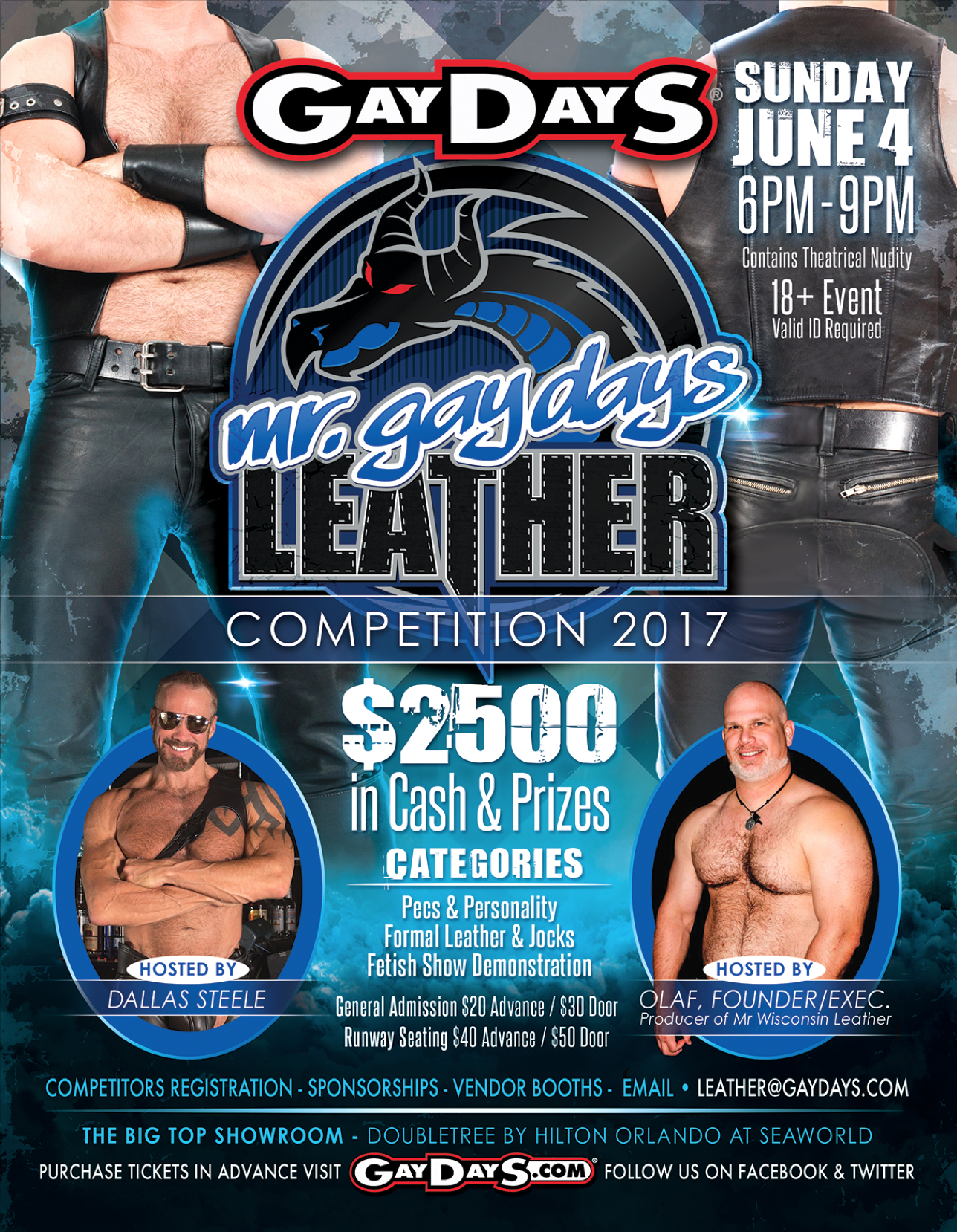 MR GAYDAYS® LEATHER