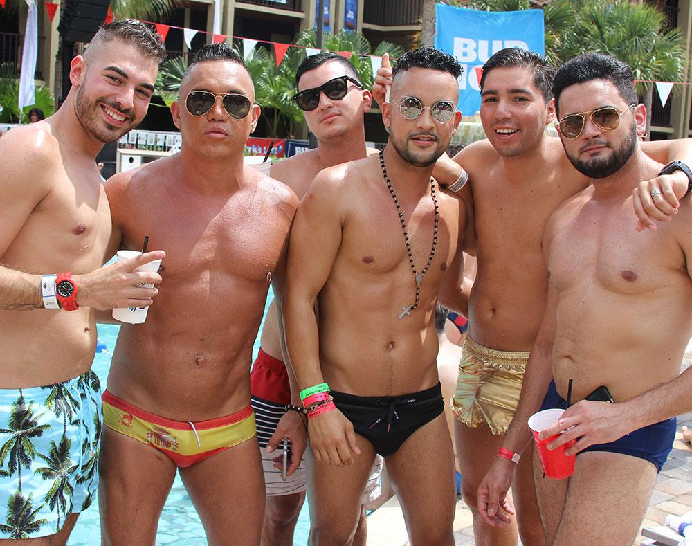 Bud light gay pool party