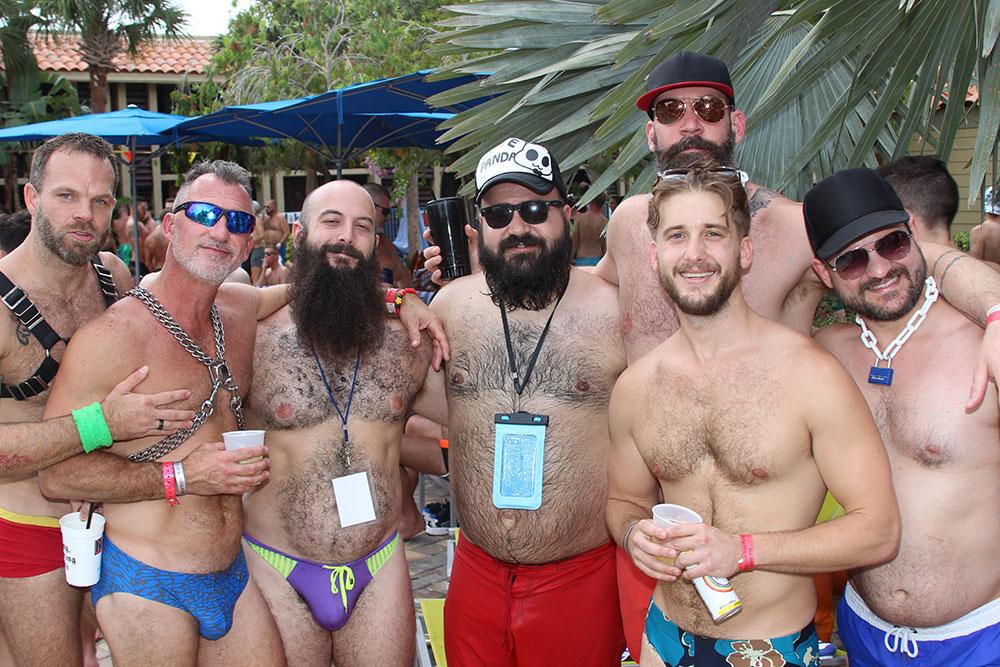 Gay bear pool party