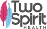 TwoSpiritHealth Logo Stacked Color Gray98x61