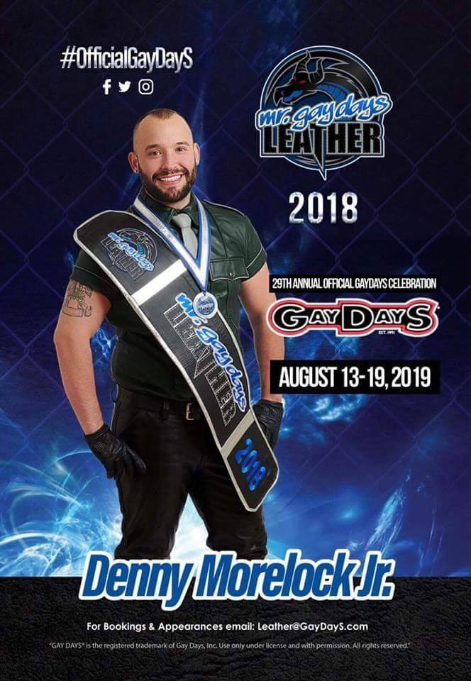 boy Denny, Mr. GayDays Leather 2018