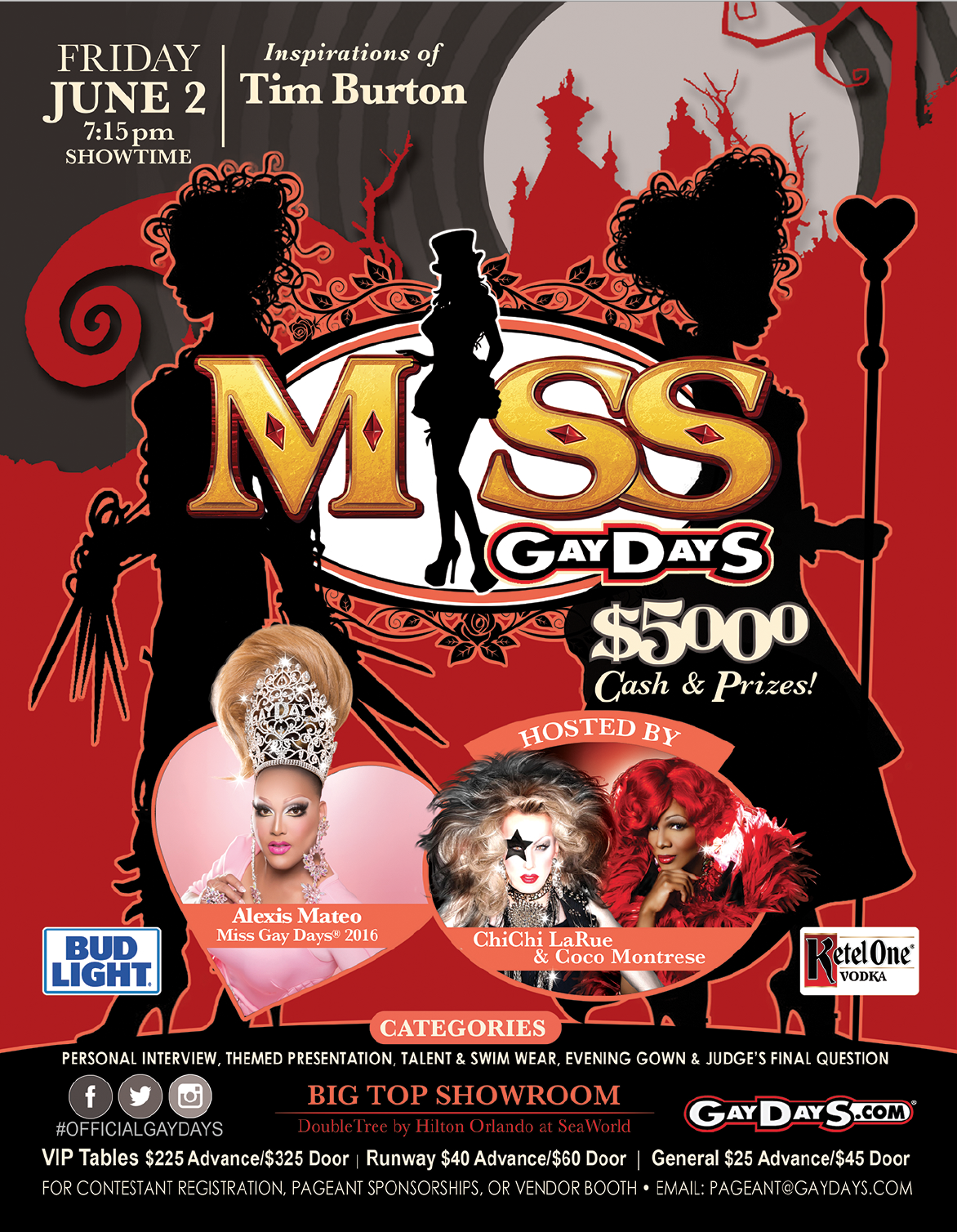 MISS GAYDAYS® PAGEANT